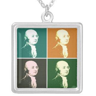 John Adams Versilberte Kette