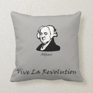 John Adams - Vive La-Revolution Kissen