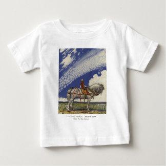 """John Bauer - """"in die weite Welt """" Baby T-shirt"""