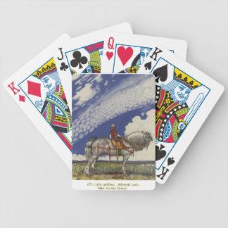 John Bauer - in die weite Welt Bicycle Spielkarten