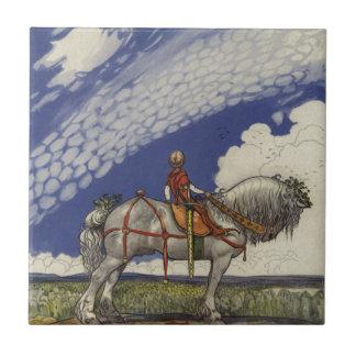 John Bauer - in die weite Welt Keramikfliese