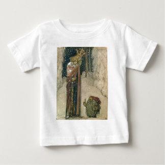 John Bauer - Prinzessin und Schleppangel Baby T-shirt