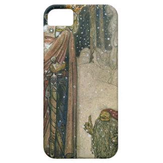 John Bauer - Prinzessin und Schleppangel iPhone 5 Cover