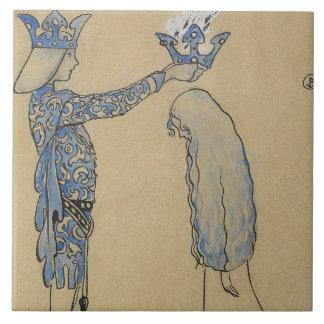 John Bauer - setzen Sie dann den Prinzen eine Fliese