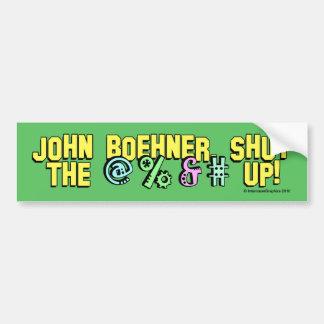 John Boehner schloss das @%&#! Autoaufkleber