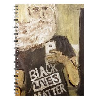 John Brown Selfie/schwarze Leben-Angelegenheit Notizblock