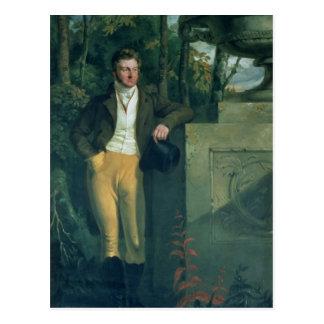 John Charles, 3. Graf Spencer Postkarte
