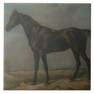 John Constable - das schwarze Reiten Golding Keramikfliese