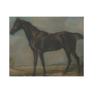 John Constable - das schwarze Reiten Golding Leinwanddruck