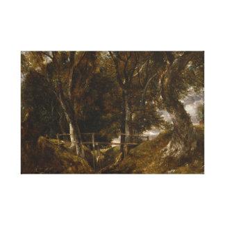 John Constable - Dell bei Helmingham parken Leinwanddruck