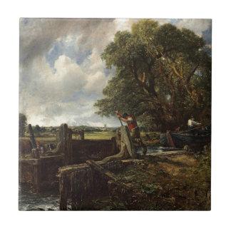 John Constable - der Verschluss- Keramikfliese