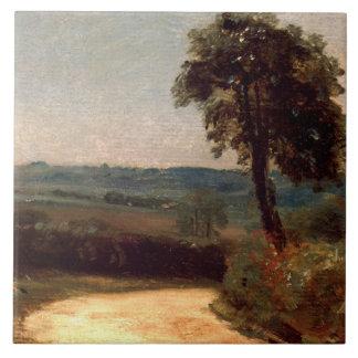 John Constable - der Weg von OstBergholt Keramikfliese