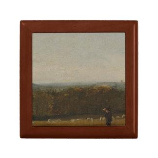 John Constable - ein Schäfer in einer Landschaft Erinnerungskiste