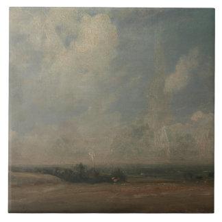 John Constable - eine Ansicht von Hampstead Heide Fliese