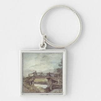 John Constable | eine Brücke über dem Stour Schlüsselanhänger