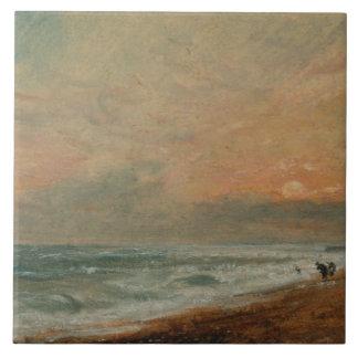 John Constable - gehobener Strand Keramikfliese