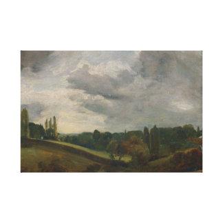 John Constable - OstBergholt Leinwanddruck