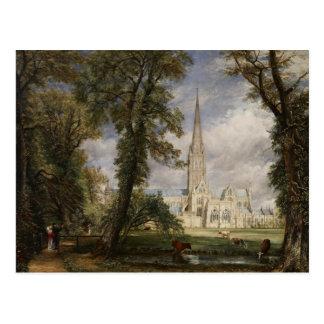 John Constable - Salisbury-Kathedrale Postkarte