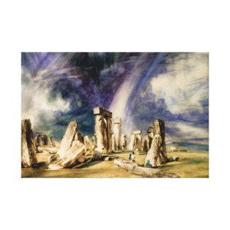 John Constable - Stonehenge Leinwanddruck