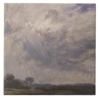 John Constable - Studie eines bewölkten Himmels Fliese