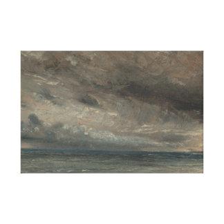 John Constable - stürmisches Meer, Brighton Leinwanddruck
