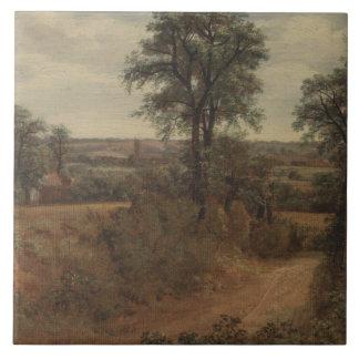 John Constable - Weg nahe Dedham Keramikfliese