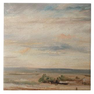 John Constable - Wolken-Studie, früher Morgen Keramikfliese