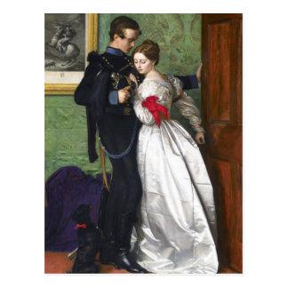 John Everett Millais das schwarze Brunswicker Postkarte