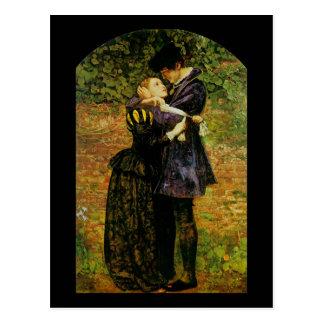 John Everett Millais Isabella Huguenot Postkarte