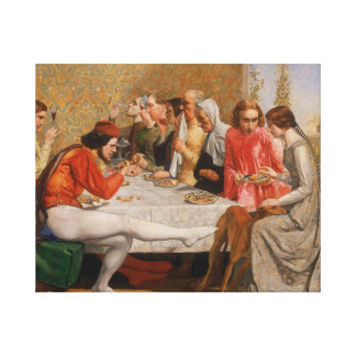 John Everett Millais - Isabella Leinwanddruck