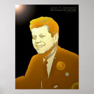 John F. Kennedy - 18x24-PRINT Poster