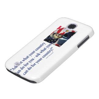 John F. Kennedy Galaxy S4 Hülle