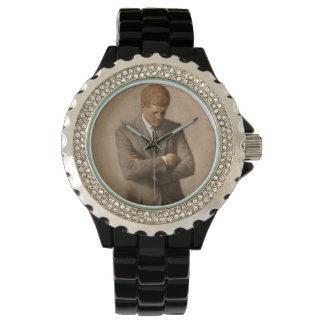 John F. Kennedy-Porträt Armbanduhr