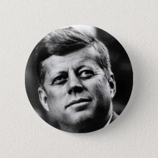 John- F. Kennedyporträt Runder Button 5,7 Cm