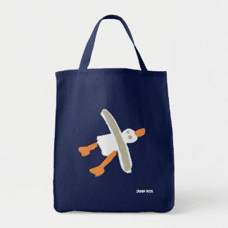 John-Farbstoff-Seemöwe-Einkaufstasche Tragetasche