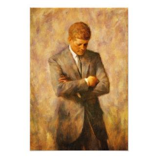 John Fitzgerald Kennedy Fotodruck