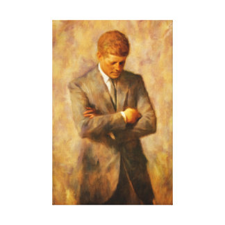 John Fitzgerald Kennedy Leinwanddruck