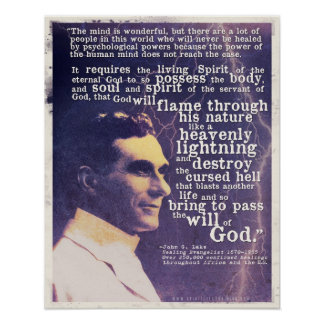 John G See-Zitatplakat Poster