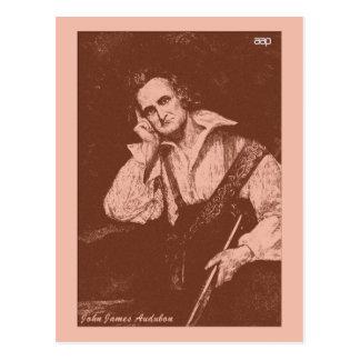 John James Audubon Postkarte