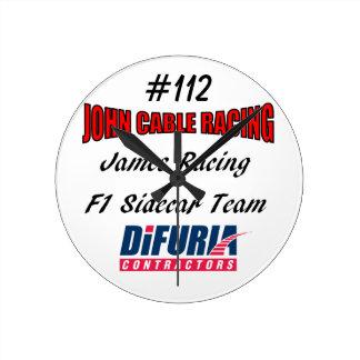 John-Kabel u. James, die Uhr laufen