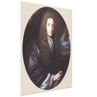 John Locke durch Herman Verelst Leinwanddruck