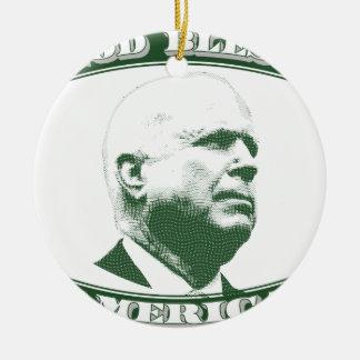 John McCain Keramik Ornament