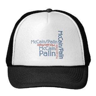 John McCain Sarah Palin 2008 Baseballmützen
