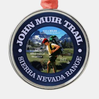 John Muir-Spur (Wanderer C) Silbernes Ornament