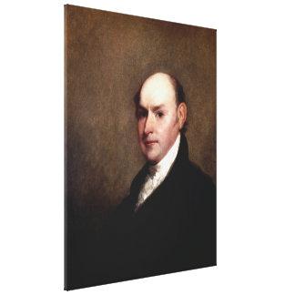 JOHN QUINCY ADAMS-Porträt durch Gilbert Stuart Leinwanddruck