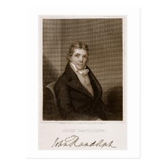 John Randolph (1773-1833) graviert von Thomas B. Postkarte