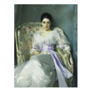 John Singer Sargent-Dame Agnew Postcard Postkarte