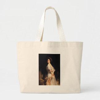 John Singer Sargent - Nancy Astor - schöne Kunst Jumbo Stoffbeutel