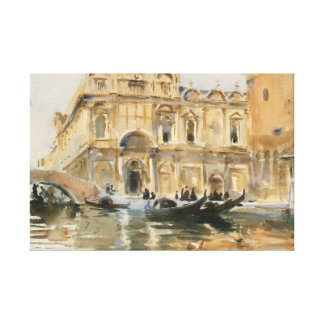 John Singer Sargent - Rio dei Mendicanti, Venedig Leinwanddruck