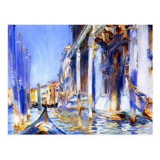 John Singer Sargent Rio dell'Angelo Venedig Postkarte